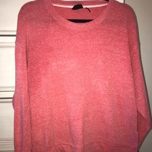 Urban Outfitters oversized pink tunic sweater